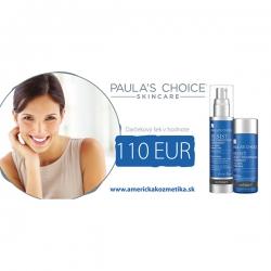 Darčekový šek v hodnote 110 EUR