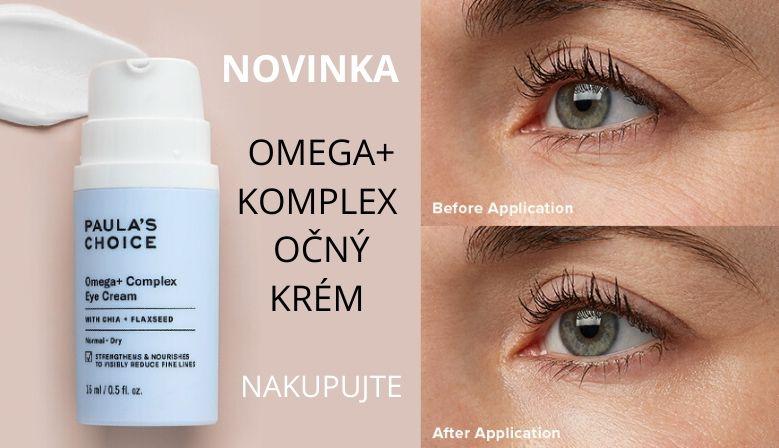 Očný krém Omega+ Complex